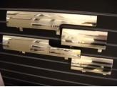 Хромированные накладки для Range Rover VOGUE на пороги 4 ч. полир. нерж. сталь.