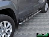 """Пороги для Volkswagen Touareg, модель """"HUNTER"""""""