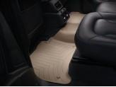 Коврики WEATHERTECH для Audi Q7 2-ой ряд, цвет бежевый