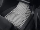 Комплект универсальных резиновых ковриков, цвет черный (можно заказать бежевые и серые), изображение 5