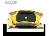 Хромированные накладки для Chevrolet Camaro на внутреннею часть крышки багажника, изображение 2