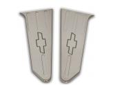 Комплект хромированных накладок на внутреннею часть крышки багажника