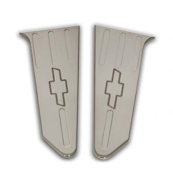 Хромированные накладки для Chevrolet Camaro на внутреннею часть крышки багажника
