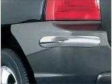Комплект накладок для Kia Sportage на задний бампер, полир. нерж. сталь