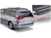 """Пластиковая накладка для Toyota Sienna на задний бампер,стиль """"OE"""""""