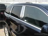 Хромированные накладки на дверные стойки Jeep Grand Cherokee