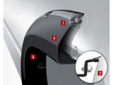 """Расширители колесных арок """"POCKET STYLE"""" (для RAM,вылет на передние крылья 7,6 см,на задние 5,7 см), изображение 8"""