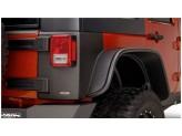 Пластиковые накладки для Jeep Wrangler угловые накладки для 4-х дв. (для 2-х дверного № 14009), изображение 2
