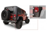 Пластиковые накладки для Jeep Wrangler угловые накладки для 4-х дв.