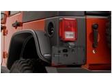 Пластиковые накладки для Jeep Wrangler угловые накладки для 4-х дв. (для 2-х дверного № 14009), изображение 3
