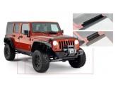 Пластиковые накладки для Jeep Wrangler на пороги для 4-х дв.