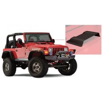 Пластиковая накладка для Jeep Wrangler на воздуховод капота