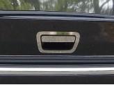Хромированные накладки на ручку задней двери из 2-х частей