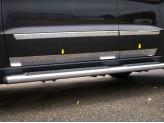 Хромированные накладки на двери Jeep Grand Cherokee
