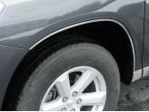 Хромированные накладки для Toyota Highlander на колёсные арки из 6 ч.