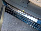 Хромированные накладки для Toyota Sienna на пороги 2 ч. полир. нерж. сталь