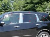 Хромированные накладки на дверные стойки и боковые окна  Acura MDX