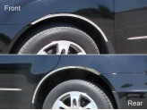 Комплект накладок полир. нерж. сталь из 4 ч. на колёсные арки.