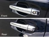 Хромированные накладки на дверные ручки Toyota Venza