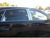 Хромированные накладки на дверные стойки Toyota Venza