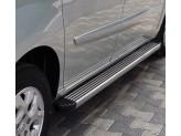 "Пороги для Volkswagen Touareg, модель ""TWIST"""