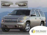 Хромированные накладки на зеркала Chevrolet Tahoe