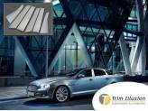 Хромированные накладки на дверные стойки Jaguar XJ