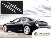 Хромированные накладки Chrysler 300/300C на двери из 6 частей