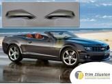 Хромированные накладки на зеркала Chevrolet Camaro