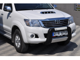 Передняя защита для Toyota HiLux с логотипом