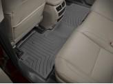 Коврики WEATHERTECH для Acura MDX 2-ой ряд , цвет черный