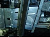 Защита раздатки для Mitsubishi L200 4 мм,для мод. с 2014 г.
