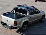"""Крышка на Volkswagen Amarok ROLL-ON"""" цвет черный для комплектации Canyon (электростатическая покраска, устанавливается с ориг. дугой), изображение 8"""