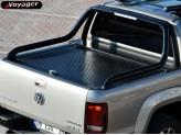 """Крышка на Volkswagen Amarok ROLL-ON"""" цвет черный для комплектации Canyon (электростатическая покраска, устанавливается с ориг. дугой), изображение 7"""