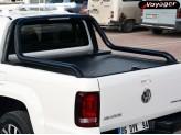"""Крышка на Volkswagen Amarok ROLL-ON"""" цвет черный для комплектации Canyon (электростатическая покраска, устанавливается с ориг. дугой), изображение 2"""