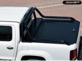 """Крышка на Volkswagen Amarok ROLL-ON"""" цвет черный для комплектации Canyon (электростатическая покраска, устанавливается с ориг. дугой), изображение 3"""