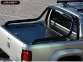 """Крышка на Volkswagen Amarok ROLL-ON"""" цвет черный для комплектации Canyon (электростатическая покраска, устанавливается с ориг. дугой), изображение 9"""