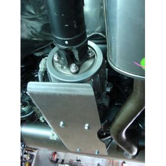 Защита дифференциала для Nissan Qashqai (алюминий) 4 мм