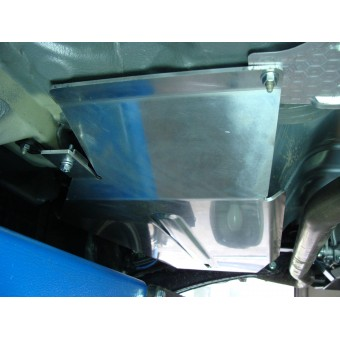 Защита бензобака (алюминий) 4мм