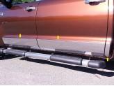 Накладки на двери для Crew Max SHORT BED-8.5 Wide - L,полир. нерж. сталь из 6-ти частей