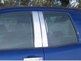 Хромированные накладки на дверные стойки Toyota TUNDRA