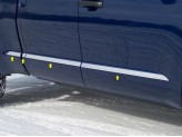Накладки на двери для Double Cab Standard Bed-1 1/2 Wide,полир. нерж. сталь из 6-ти частей