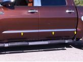 Накладки на двери для Crew Max SHORT BED-1 1/2 Wide,полир. нерж. сталь из 6-ти частей