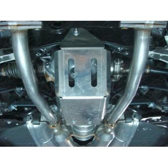Защита дифференциала для Infiniti Q50 (алюминий) 4 мм