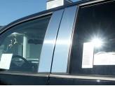 Хромированные накладки на дверные стойки Ford F150