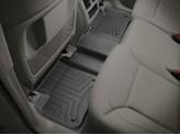 Коврики WEATHERTECH для Mercedes-Benz M-class W166 задние, цвет черный