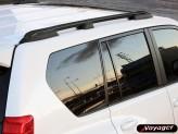 """Комплект рейлингов """"ARINNA"""" для Toyota Landcruiser Prado 150, цвет черный"""