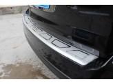 "Хромированная накладка для Subaru Forester на задний бампер с логотипом ""SUBARU"""