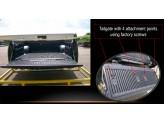 Вкладыш в кузов для Mitsubishi L200 пластиковая для двойной кабины под борта (для Long-длинная база 152,4 с 2014-2015), изображение 2