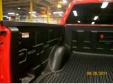 Вкладыш в кузов для Ford F150 пластиковая, под борта (для 5.5ft), изображение 2